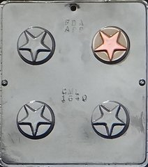 Star Oreo Cookie Chocolate Craft Candy Mold
