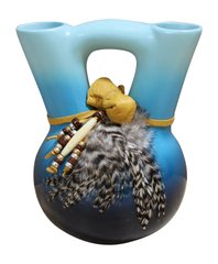 Blue Wedding Vase