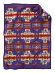 Pendleton Chief Joseph Muchacho Crib Blanket, Purple