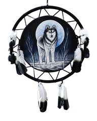 "24"" Eagle Shield Mandala - Wolf"