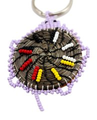 Sweetgrass Turtle Key Chain, Lilac