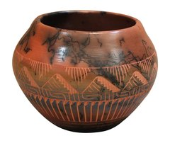 Horse Hair Pottery, PD-01