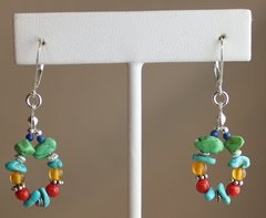 Multi-Stones Earrings