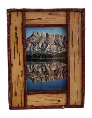 4 x 6 Birch Bark Picture Frame