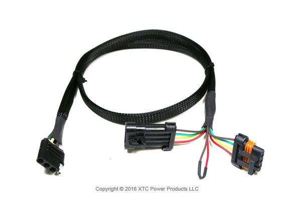 Trailer Wiring Harness No Power : Polaris general plug play trailer light adapter oem