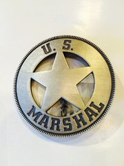 US Marshal Star Cut Out Badge
