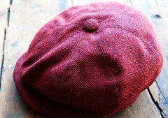 NEWBOY CAPS HANDMADE in ENGLAND of VINTAGE HARRIS TWEED