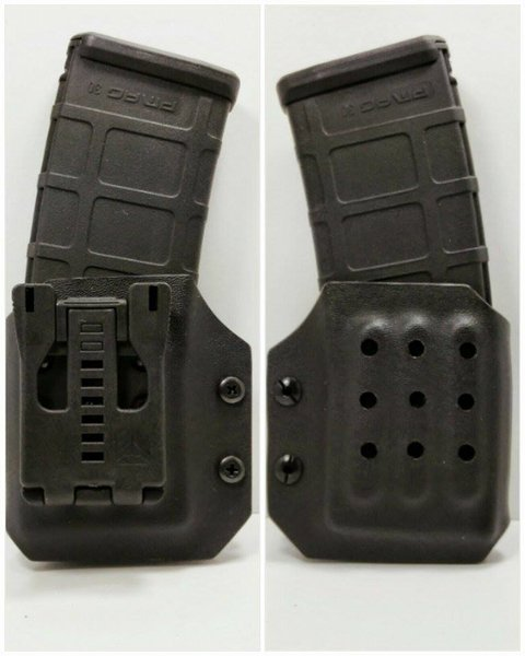 how to make kydex ar15 mag pouch
