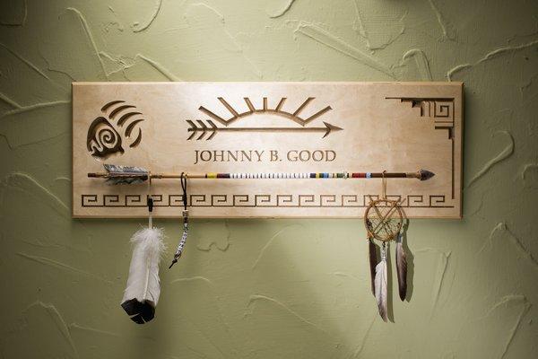 arrow of light award plaque personalized arrow of light plaque. Black Bedroom Furniture Sets. Home Design Ideas