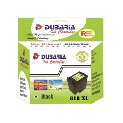 Dubaria 818 XL Black Ink Cartridge For HP 818XL Black Ink Cartridge