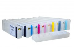 Dubaria Empty Refillable Ink Cartridges For Epson Stylus Pro 11880 Printer - 700 ML Each Cartridge Capacity - 9 Colors Set