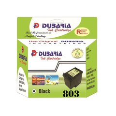 Dubaria 803 Black Ink Cartridge For HP 803 Black Ink Cartridge