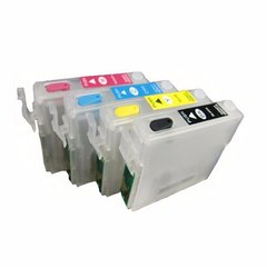 Dubaria Empty Refillable Cartridge For Epson ME20 / ME320 / ME620 Printers Compatible With Epson T1431 / 32 / 33 / 34