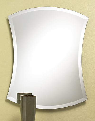 Concave Frameless Mirror 24 X 30 | The Home Centre at ...