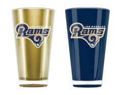Los Angeles Rams Insulated Tumbler Cup 2 Pack On Field Colors NFL Licensed