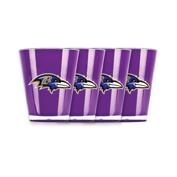 Baltimore Ravens Shot Glass Insulated/Shatterproof NFL Licensed FREE SHIPPING