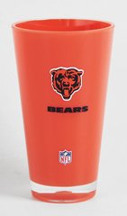 Chicago Bears Acrylic Tumbler Cup 20oz Round Insulated/Shatterproof NFL Licensed FREE SHIPPING