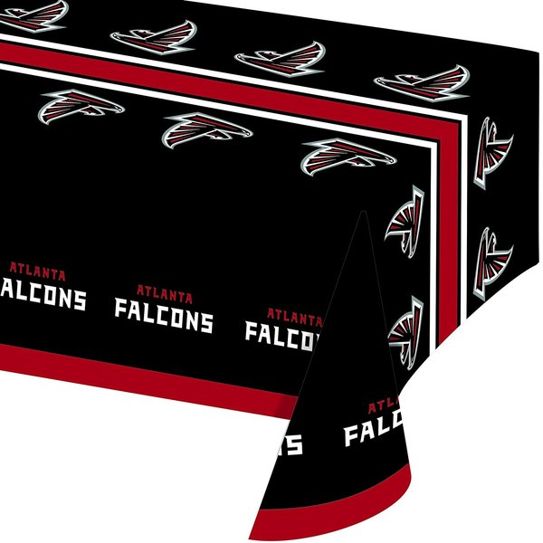 Atlanta Falcons Tablecloth Table Cover By Creative Converting