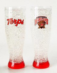 Maryland Terrapins Crystal Freezer Pilsner NCAA