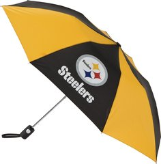 "Pittsburgh Steelers Automatic Push Button Umbrella 42"" NFL Licensed"