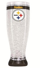 Pittsburgh Steelers Crystal Pilsner Glass NFL