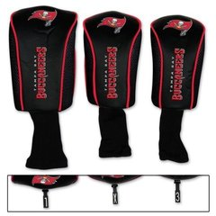Tampa Bay Buccaneers Golf Club Covers 3 pack NFL Licensed