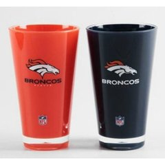 Denver Broncos Insulated Tumbler Home/Away Twin Pack NFL