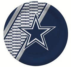 "Dallas Cowboys 10"" Disposable Paper Plates 20 Count Partyware"