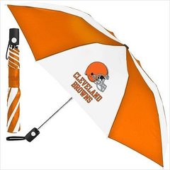 "Cleveland Browns Automatic Umbrella 42"" Foldable NFL Licensed"