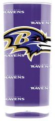 Baltimore Ravens Acrylic Tumbler Cup 20oz Square Insulated/Shatterproof NFL Licensed FREE SHIPPING