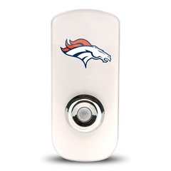 Denver Broncos Night Light LED Flash Light w/Built In Sensor NFL