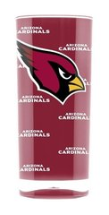 Arizona Cardinals Acrylic Tumbler Cup 20oz Square Insulated/Shatterproof NFL Licensed FREE SHIPPING