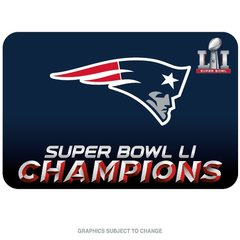 New England Patriots Super Bowl LI Champions Welcome Door Mat