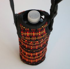 H2BN Yamassee Water Bottle Carrier Orange Multicolor Adjustable Strap