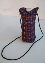 H2BN Yamassee Water Bottle Carrier Purple Multicolor Bag