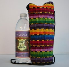 H2BN Yamassee Water Bottle Carrier Multicolor Thin Rope String