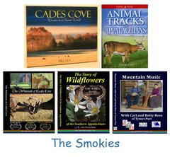"A DVD and Book Set - ""The Smokies"" - 2 Books and 3 DVDs in 1 set NOW ON SALE!"