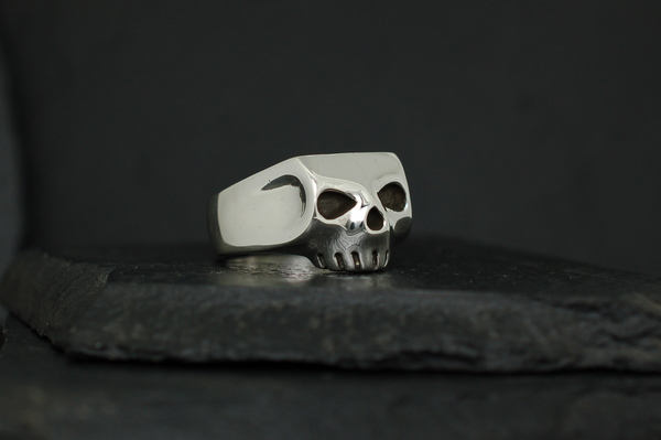 Jim Skull Ring Iggy Pop Skull Ring Johnny Depp Skull