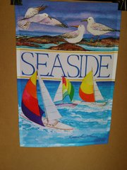 AIE SEASIDE GARDEN FLAG