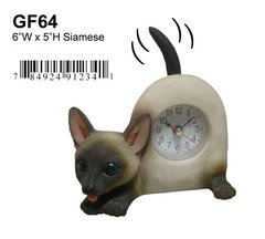 "Siamese Cat 6""W x 5""H"