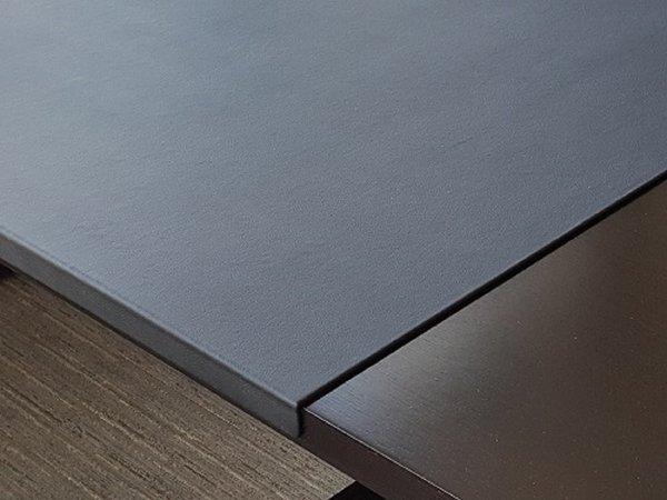 Faux Leather Bent Edge Mat Pad Blotter Custom Desk