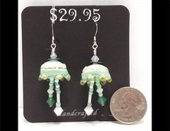Bamboozle Drop Glass Earrings by Heidi Klepper