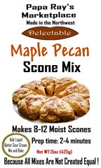 Papa Ray's Maple Pecan Scone Mix
