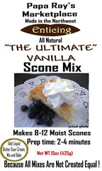 Papa Ray's The Ultimate Vanilla Scone Mix