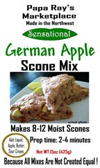Papa Ray's German Apple Scone Mix