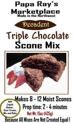Papa Ray's Triple Chocolate Scone Mix
