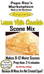 Papa Ray's Lemon White Chocolate Scone Mix
