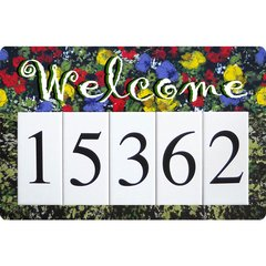 Monet Welcome Address Board Large