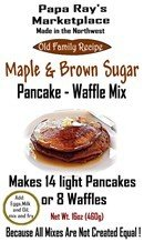 Papa Ray's Maple Brown Sugar Pancake and Waffle Mix