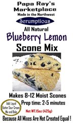 Papa Ray's Blueberry Lemon Scone Mix
